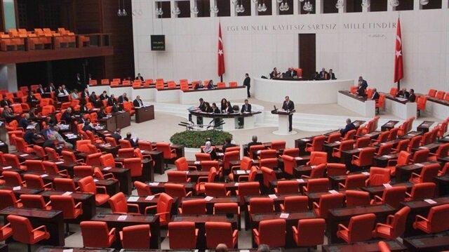 Davutoğlu başbakanlık sonrası ilk kez TBMM Genel Kurulu'nda