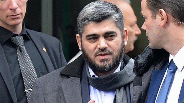 Suriyeli muhalif liderden protesto istifası