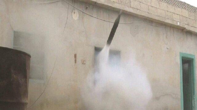 IŞİD füzeleri evden atıyor