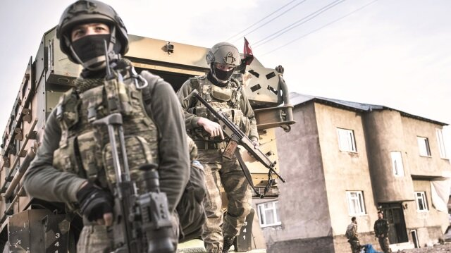 PKK ele başı ve ekibi kaçarken öldürüldü