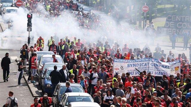 Fransa yeni bir grev dalgasıyla karşı karşıya