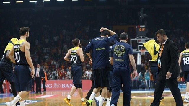 TBF'den<br/>Galatasaray'a ceza