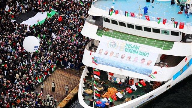 Mavi Marmara saldırısının 6.yılı: Abluka zulümdür!
