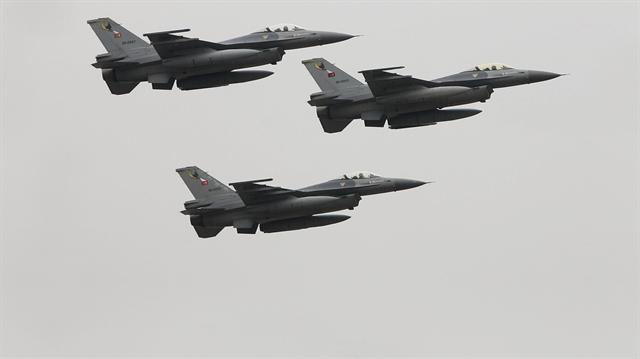 Kuzey Irak'a hava harekatı: 14 terörist öldürüldü