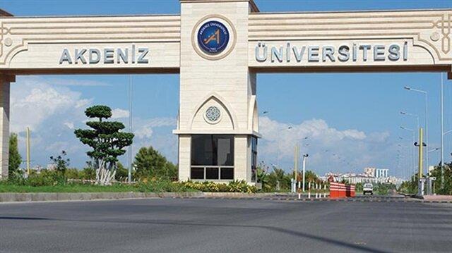 Akdeniz Üniversitesi'nde yolsuzluk operasyonu: 75 gözaltı