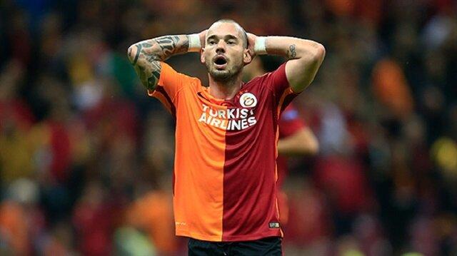 Sneijder'den<br/>büyük tepki