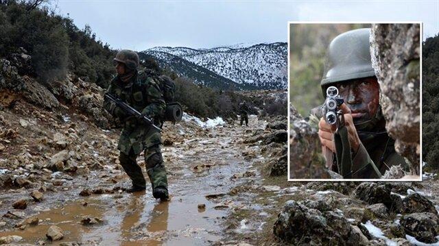 Dağda ovada PKK teyakkuzu