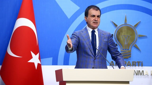 Bakan Ömer Çelik'ten AB'ye kararlılık mesajı