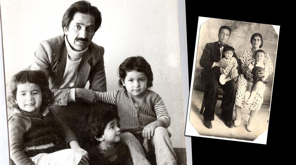 Cahit Zarifoğlu'nun aile albümünde en çok çocuklarıyla çekildiği fotoğraflar var. Yine albümde kendi anne babası ve abisi Sait Zarifoğlu'yla çekilmiş bebeklik fotoğrafı yer alıyor. Cahit Zarifoğlu'na annesi kendi elbise kumaşından kıyafet dikmiş.