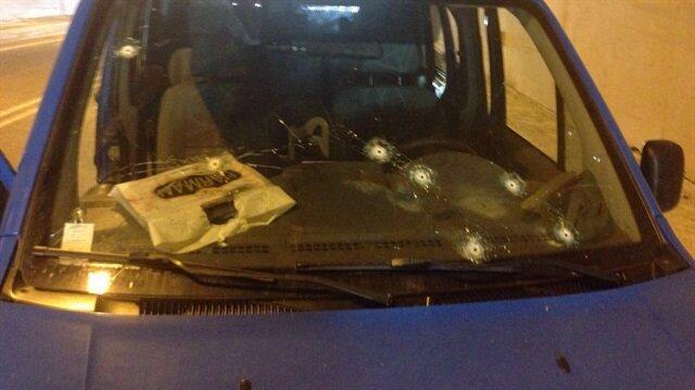 Gümüşhane'de askeri araca, teröristlerce saldırı düzenlendi.