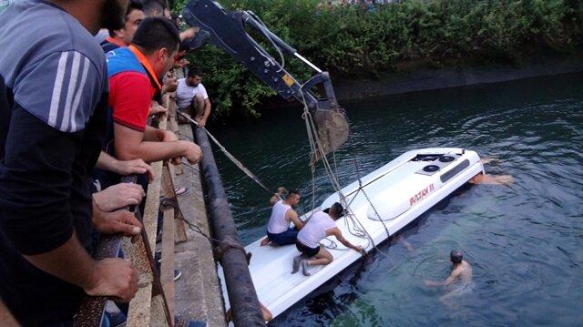 Osmaniye'de midibüsün sulama kanalına düşmesi sonucu 14 kişi yaşamını yitirmişti.