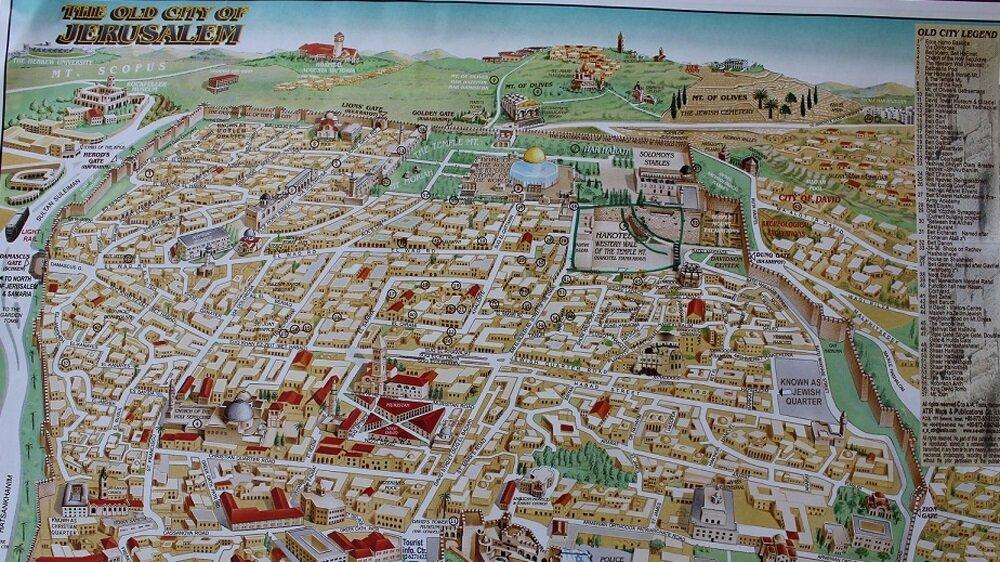İsrail Turizm Bakanlığı, Mescid-i Aksa'yı Kudüs haritasından sildi. Bakanlığın resmi olarak onaylayıp kullandığı harita tamamen İbranice olarak hazırlanmış. Haritada Müslüman ve Hristiyanlar açısından kutsal sayılan yerler yer almazken, Yahudiler açısından önem arzeden tüm yerler haritada mevcudiyetini koruyor.