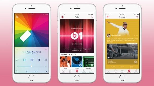 Apple Müzik artık yepyeni bir tasarıma kavuşuyor.