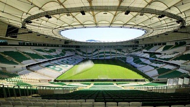 Timsah Arena 'güneşleniyor'