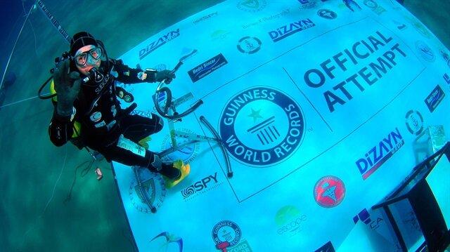 Cem Karabay 6 gün su altında yaşayacak
