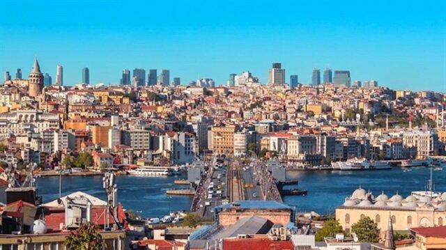 İstanbul'a bir de buradan bakın!