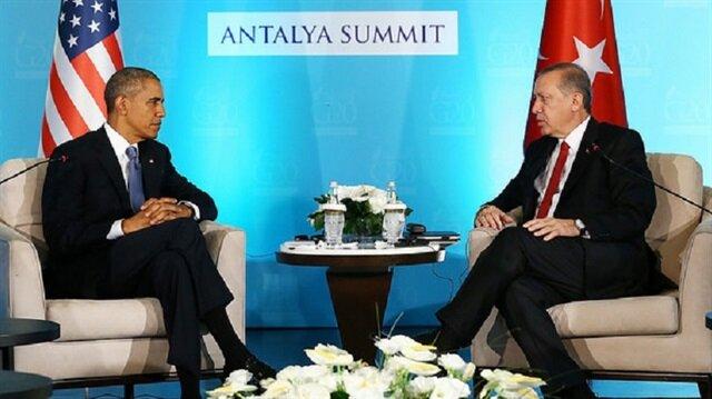 Cumhurbaşkanı Erdoğan ile Obama görüşecek