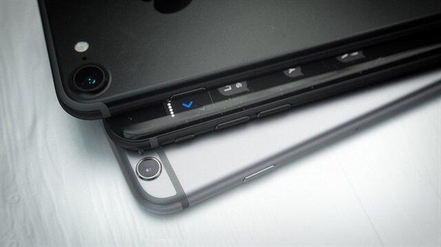 Siyah renkli iPhone 7 işte böyle görünecek.