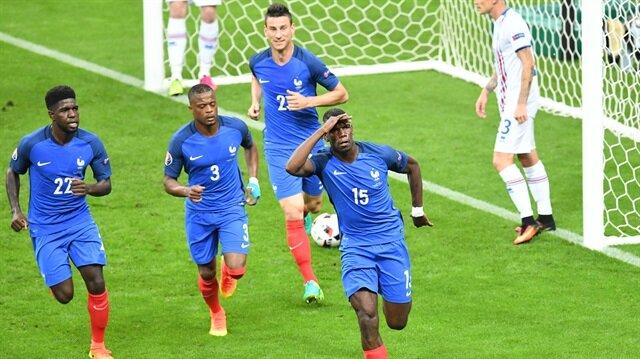Fransa <br/>yarı finalde