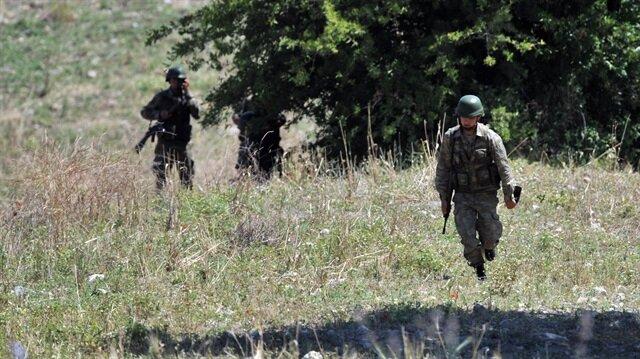 Karadeniz'de PKK'lı teröristlerle çatışma