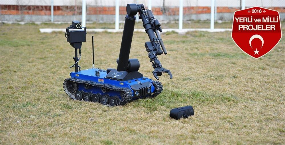 Kaplan Bomba İmha Robotu.