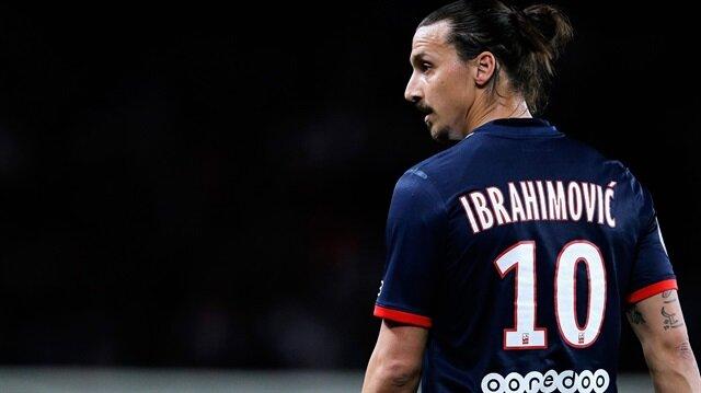 Ibrahimovic'in <br/>numarası belli oldu