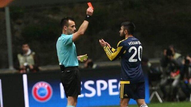 UEFA'dan <br/>Volkan Şen'e ceza indirimi