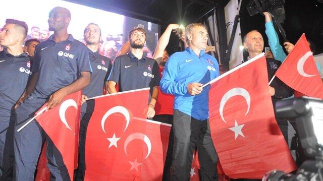 Trabzonspor Demokrasi Nöbeti'nde
