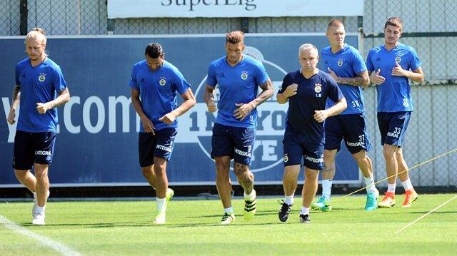 Fenerbahçe'de<br/>Monaco hazırlıkları sürüyor