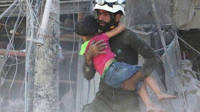 Halep'e varil bombalı saldırı: 20 ölü