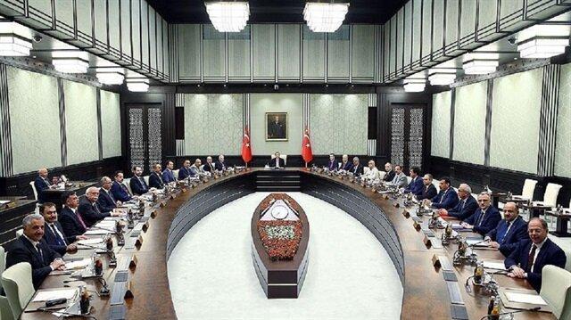Kabine Beştepe'de toplanıyor