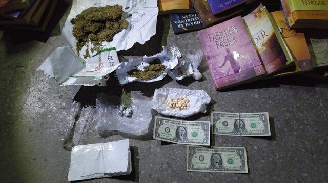 Uyuşturucu operasyonunda '1 dolar' çıktı