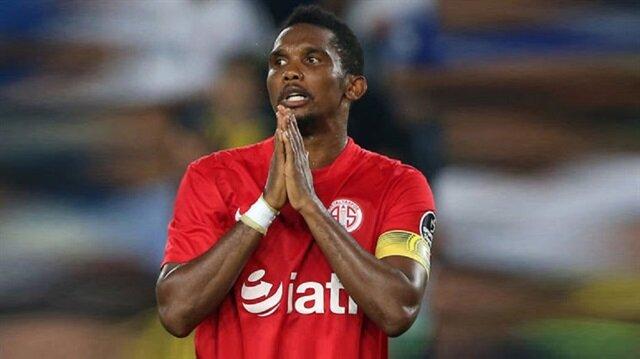 Antalyaspor'dan <br/>çok sert Eto'o açıklaması