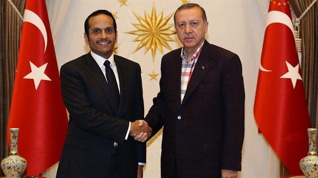 Erdoğan Al Sani'yi kabul etti
