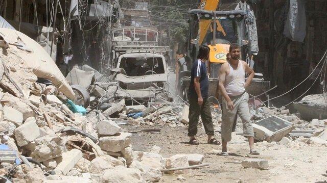 Halep'te vakum bombalı katliam: 22 ölü
