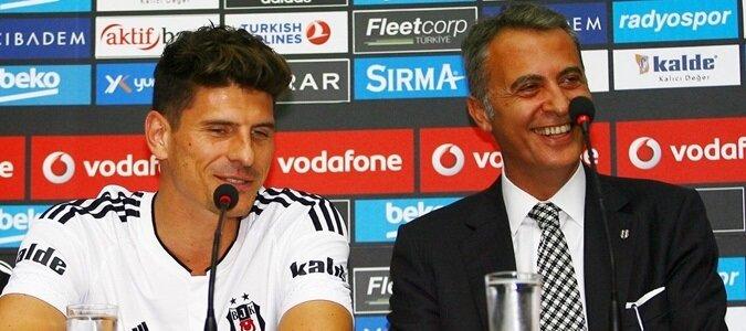 Mario Gomez ile Fikret Orman'ın görüşmesi sonrası anlaşma sağlanabilir.