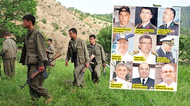 FETÖ'nün askerleri PKK'ya sığındı