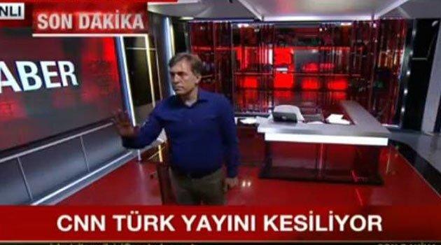 FETÖ darbe gecesi TRT, Anadolu Ajansı ve CNN binasına baskın düzenledi. Yayınlar kısa süreliğine kesintiye uğradı.