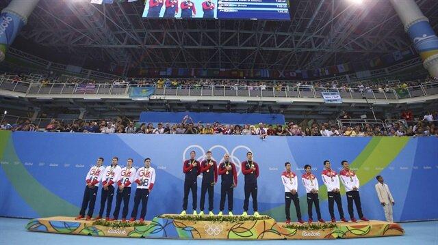 Rio Olimpiyat Oyunları'nda madalya sıralamasında ABD'li sporcular zirvede yer alıyor.