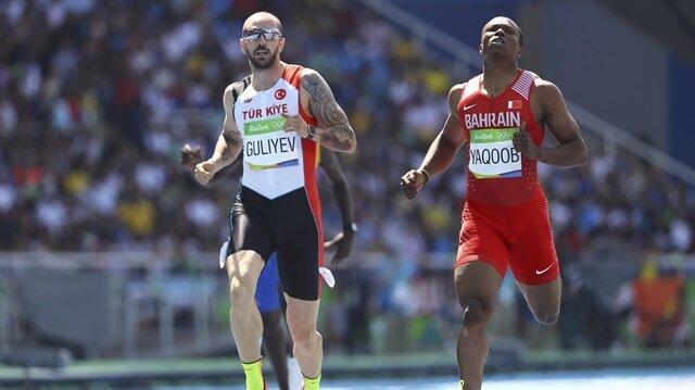 Milli atlet Ramil Guliyev erkekler 200 metrede finalde.