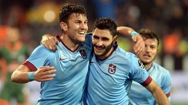 'Trabzonspor'a <br/>veda etti'
