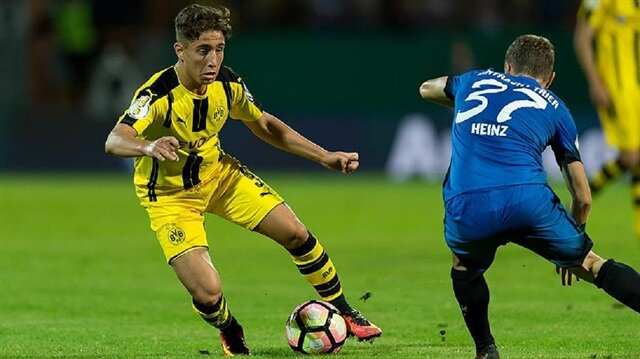 Emre Morlu <br/>Dortmund turladı