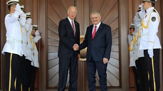 التصريحات الأوليّة لنائب الرئيس الأمريكي جوبايدن في أنقرة