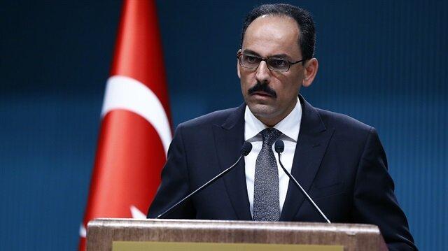 متحدث الرئاسة التركية: