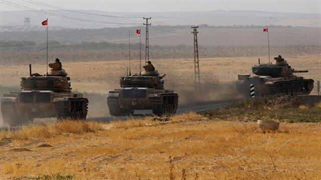 دخول عشر دبابات تركية إضافية