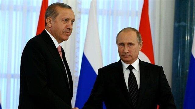 أردوغان وبوتين يتفقان على تسريع إيصال المساعدات إلى حلب