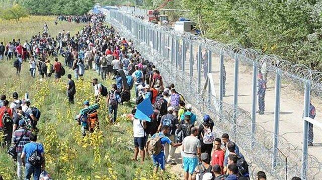 Macaristan sınırına çifte çit örüyor