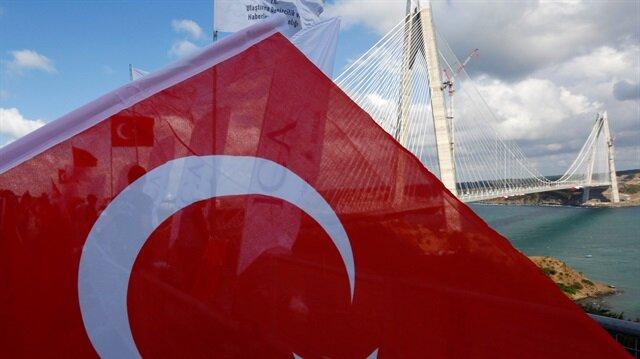 Yavuz Sultan Selim Köprüsü'nün açılışında dik...