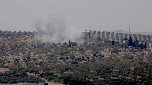 Türkiye Amarna'da PYD'yi vuruyor