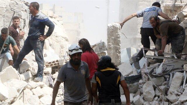 Esed taziye çadırını vurdu:20 ölü